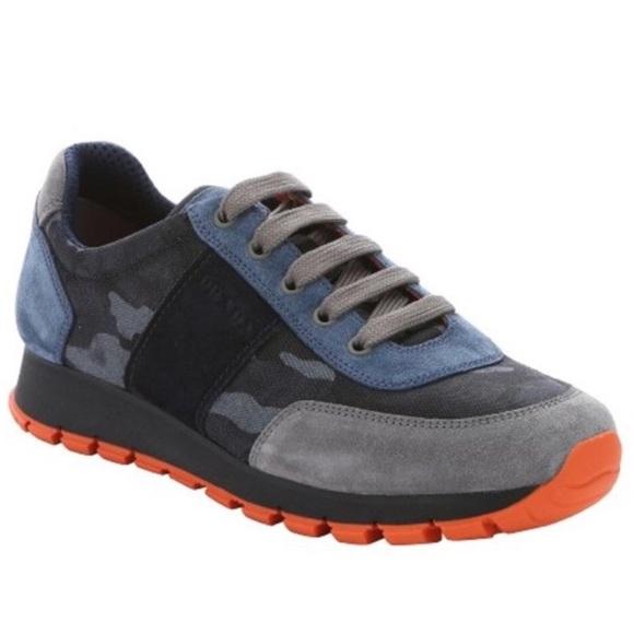 30098268 Prada Camo Sneakers